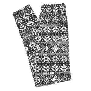 NWOT! Festive Holiday/Winter Print Leggings/ S/M